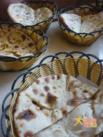 Naan selection