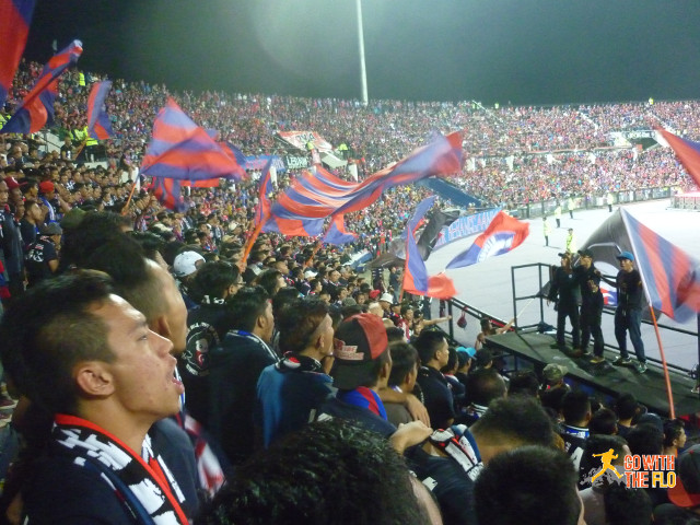 In the main fan sector
