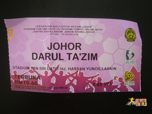 JDT vs Kelantan F.C., 18.04.2015