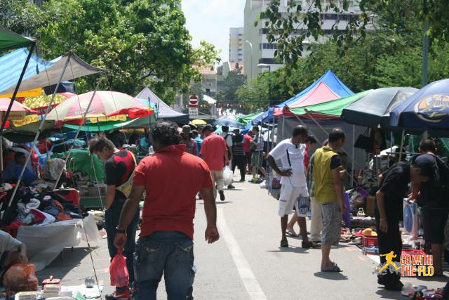 Sungei Road Market