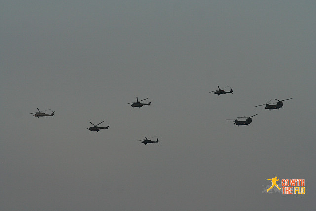 Followed by a couple of Apaches