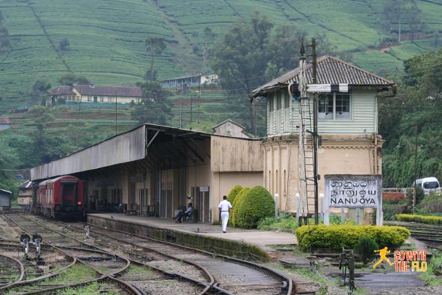 Nanu Oya station, gateway to Nuwara Eliya