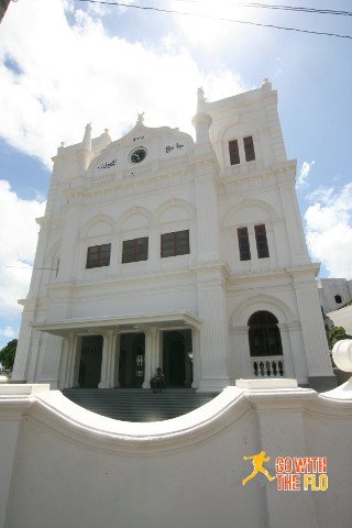 Church turned Mosque in Galle
