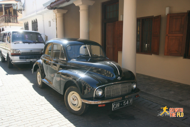 Indian Ambassador car