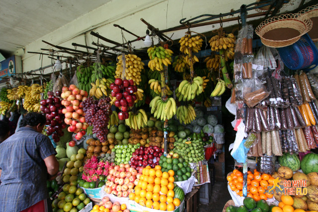 Fruits stall in Kandy