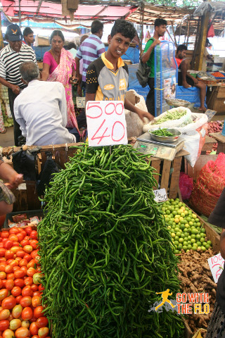 Fresh produce in Colombo