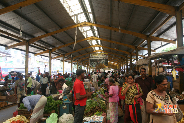 Market overview in Colombo