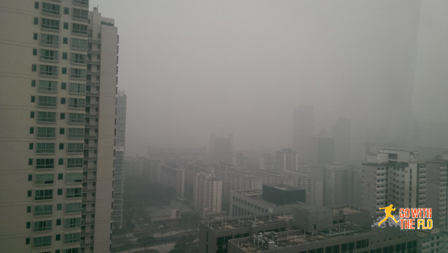 View limited by the Haze - PSI around 300
