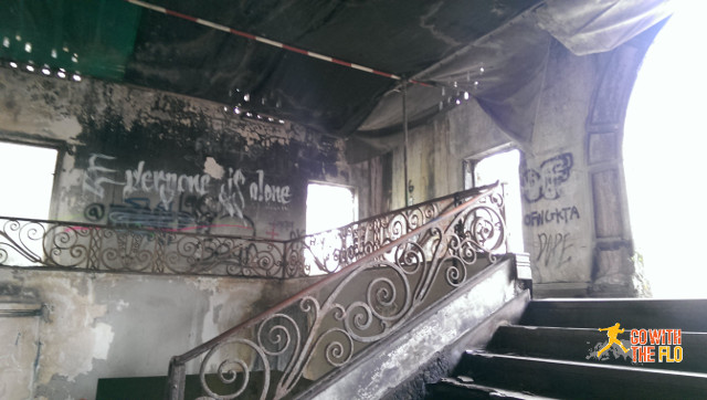 This must have been a very impressive staircase back in the days
