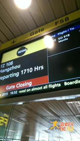 Scoot to Hangzhou