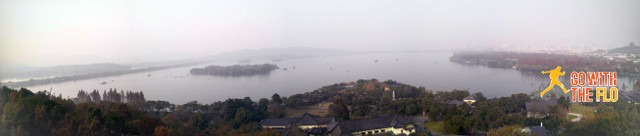 View of West Lake from Leifeng Pagoda