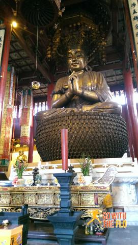 Inside Jingci Temple