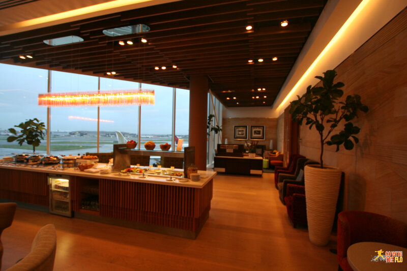 Malaysia Airlines First Class Lounge Heathrow Terminal 4