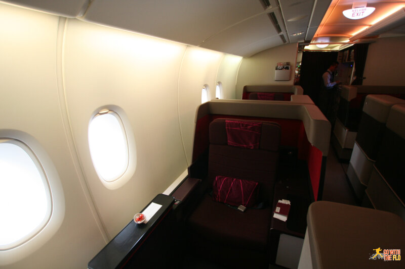 Malaysia Airlines A380 First Class - seat 1K