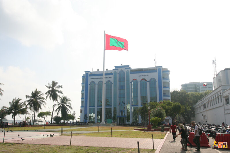 The Republic Square in Malé