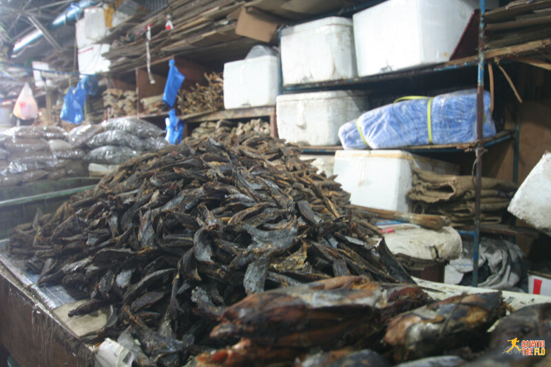 And to finish off this post, let's get back to some more fish - this time dried