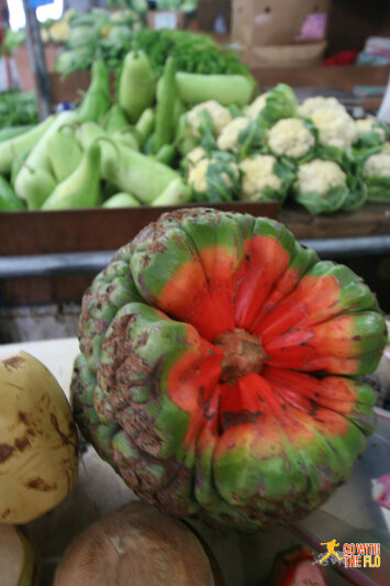 A rather exotic fruit