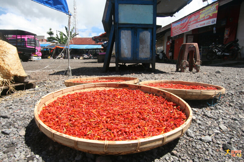 Chilli at Bajawa market