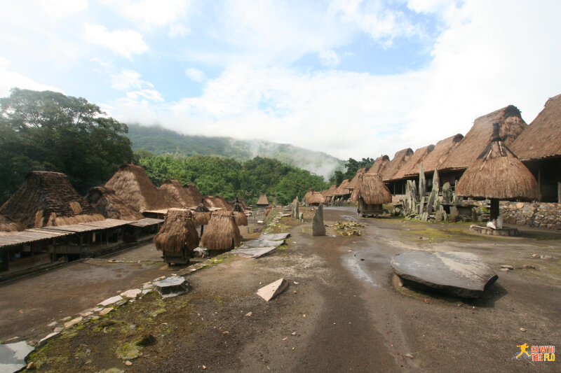 An Ngada village near Bajawa