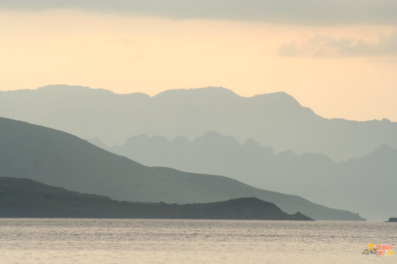 View from Rinca Island