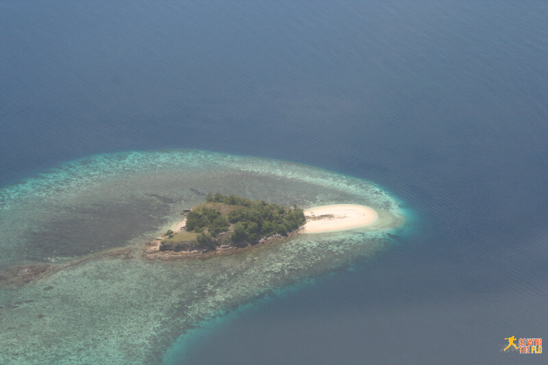 A sneak preview of what we might be expecting on approach to Labuan Bajo
