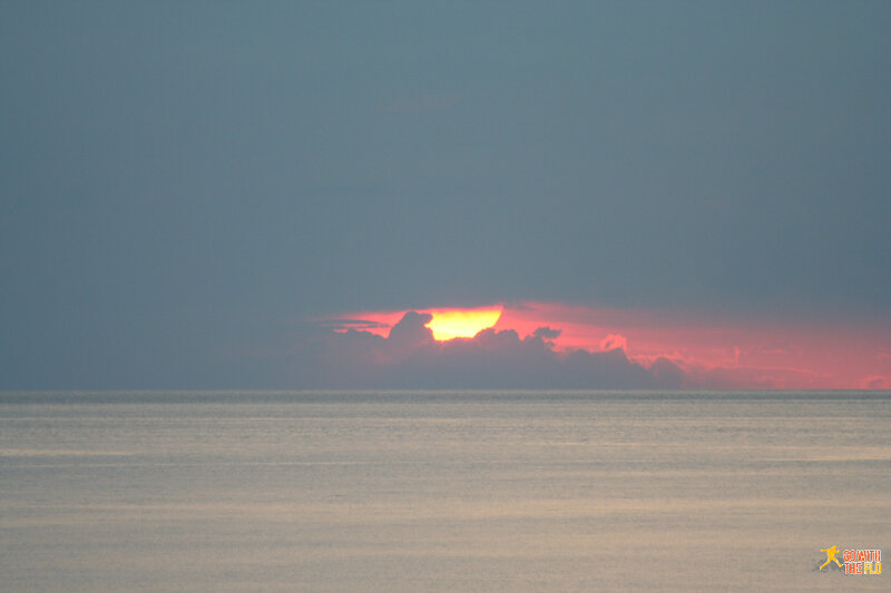 Sunset on Seraya Kecil