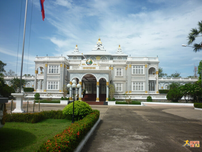 Vientiane's presidential palace