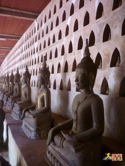 Inside Wat Si Saket