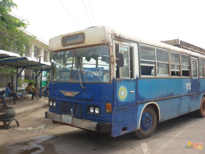 Near the Talat Sao Bus Station