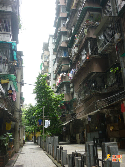 Guangzhou back alley