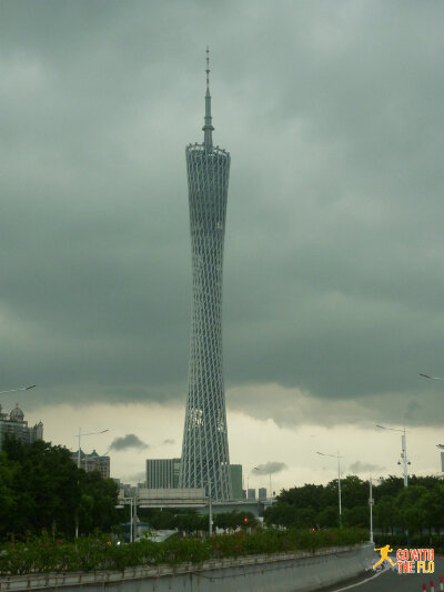 The Canton Tower (广州塔) - completed in 2010 and currently the the third tallest tower in the world (595.7 m)