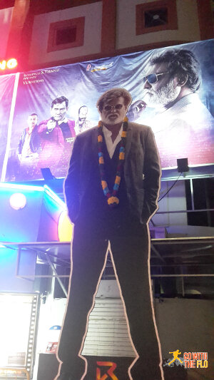 Kabali ads outside Rex Cinema