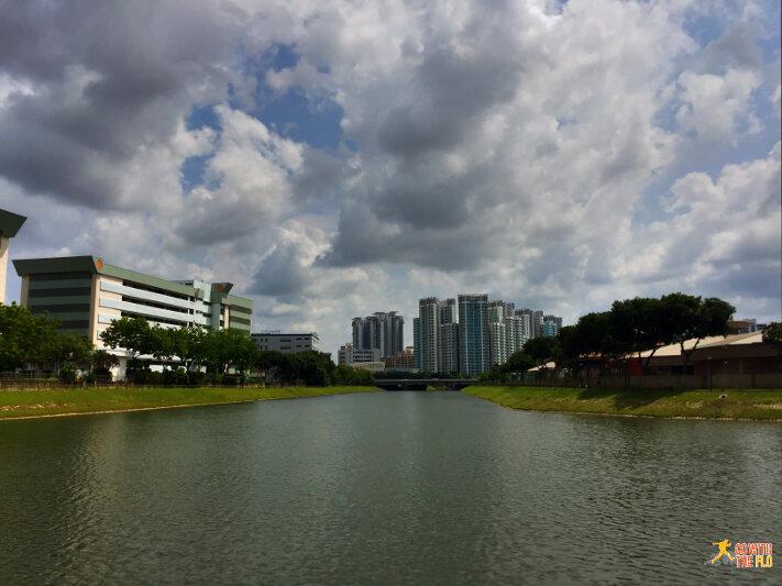 Kallang Riverside Park to Bishan-Ang Mo Kio Park - near Kallang MRT