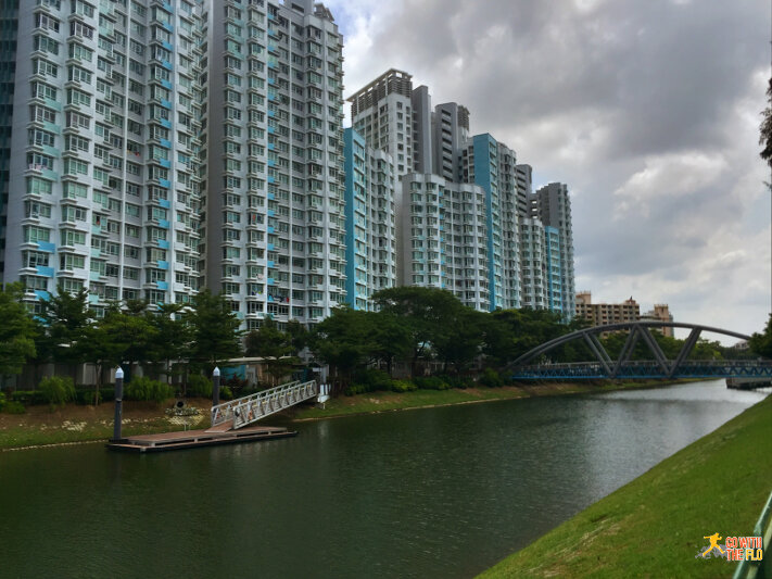 Kallang Riverside Park to Bishan-Ang Mo Kio Park -  housing in Whampoa