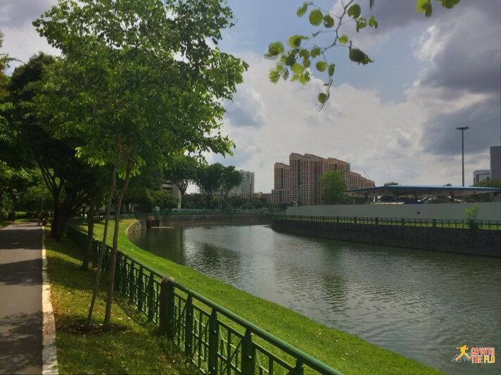 Kallang Riverside Park to Bishan-Ang Mo Kio Park - near Toa Payoh