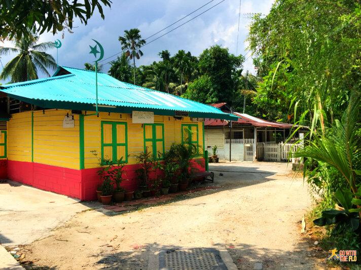 Surau (Islamic assembly building) at Kampong Lorong Buangkok