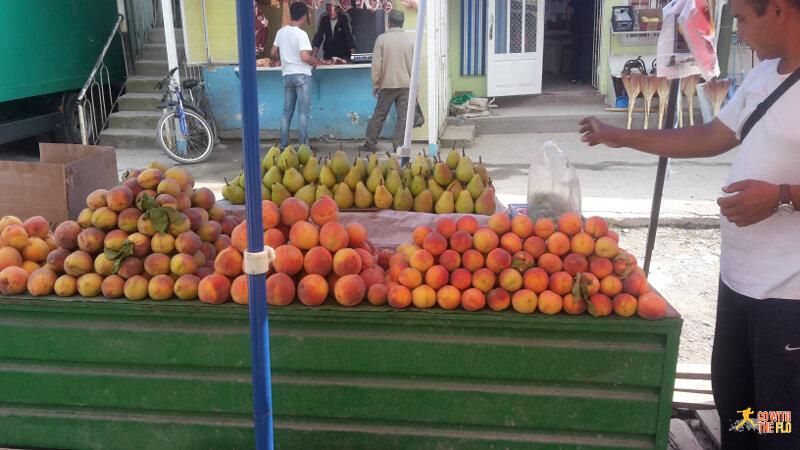 Bazaar in Arslanbob