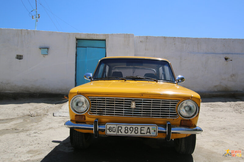 A Lada (?) in better shape