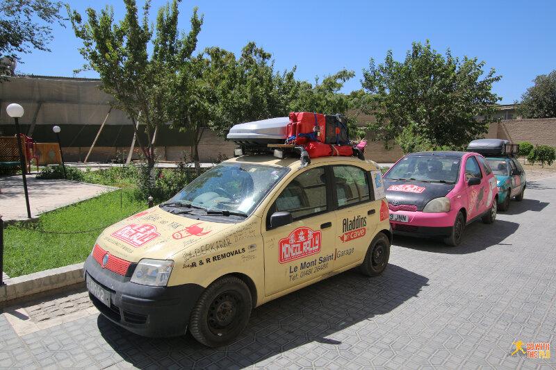 Mongol Rallye cars