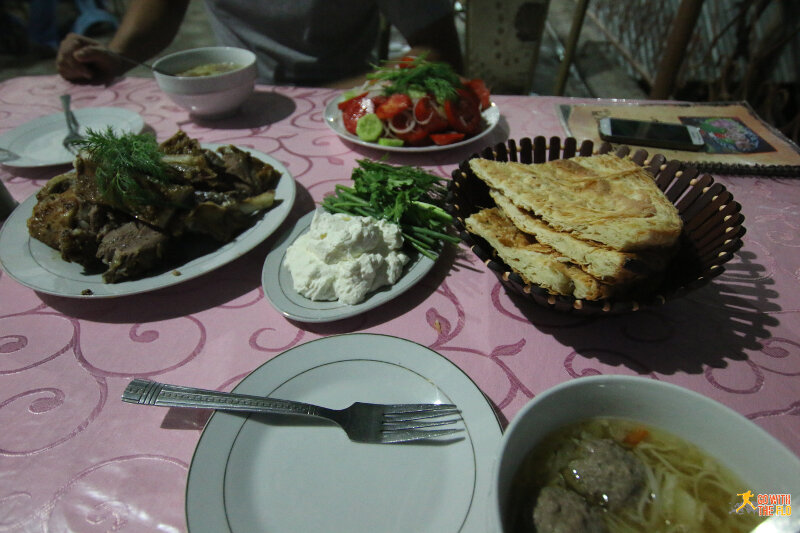 Dinner at Chor Bakhr