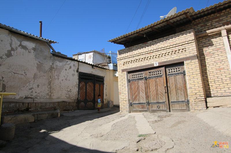 Old town Bukhara