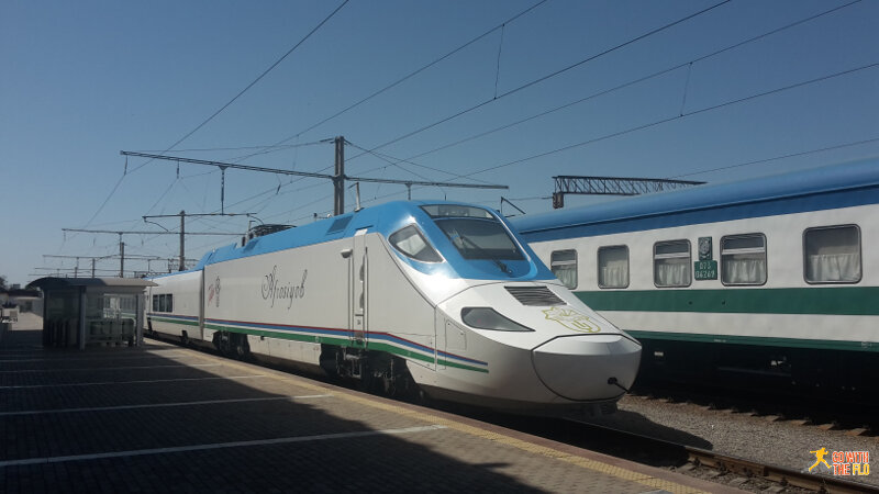 Afrosiyob high-speed train