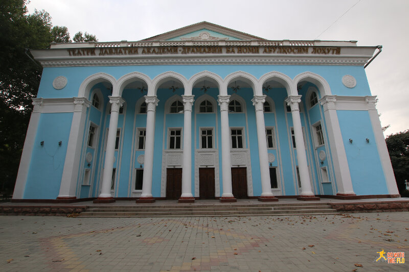 Building in Dushanbe (forgot what it was)