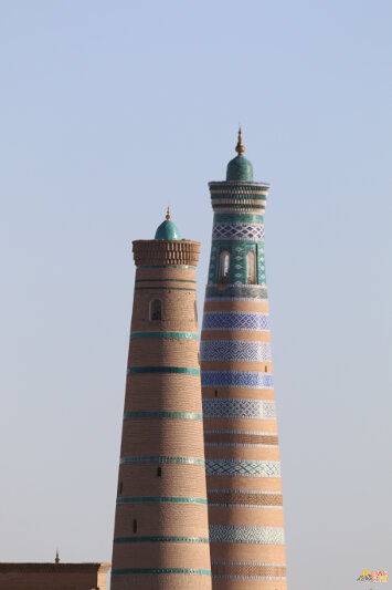 Juma and Islom-Hoja Minaret
