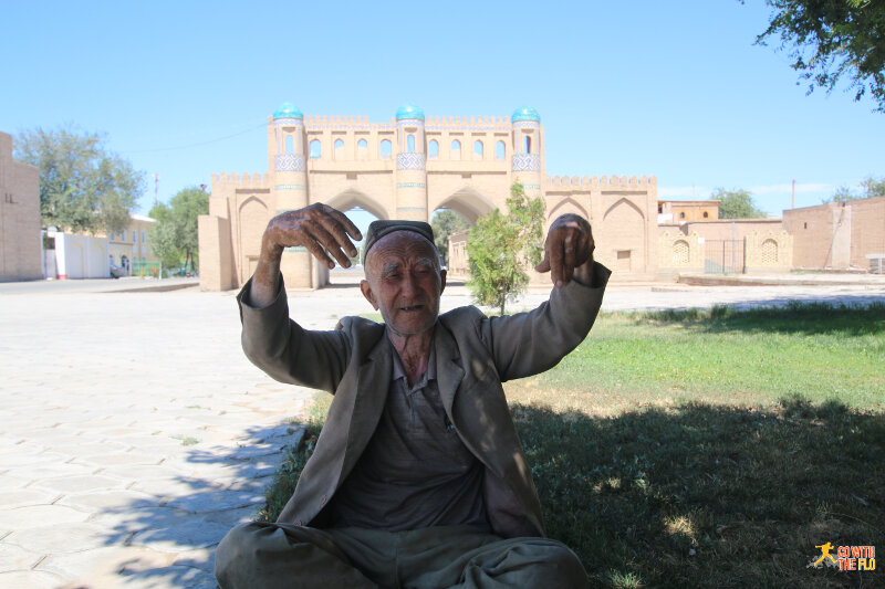 Old man in Khiva