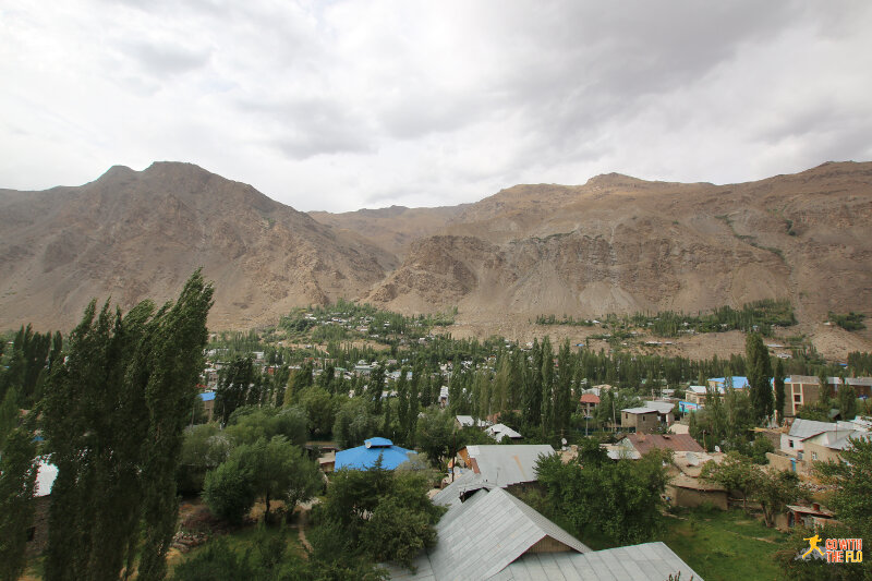 View of Khorog
