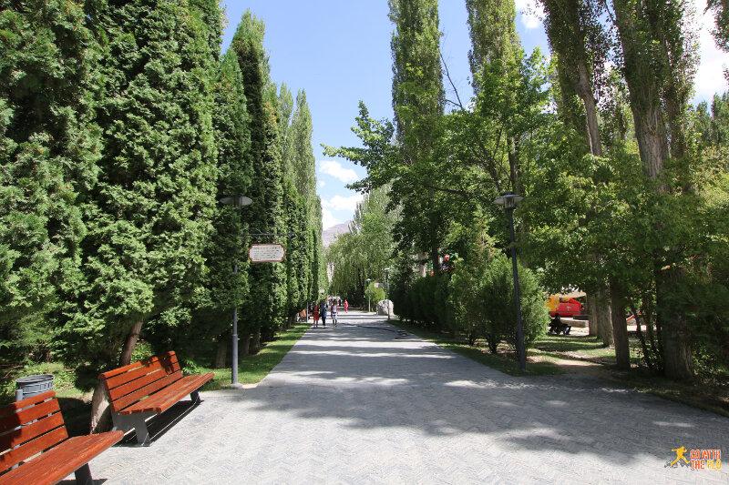 Park in Khorog