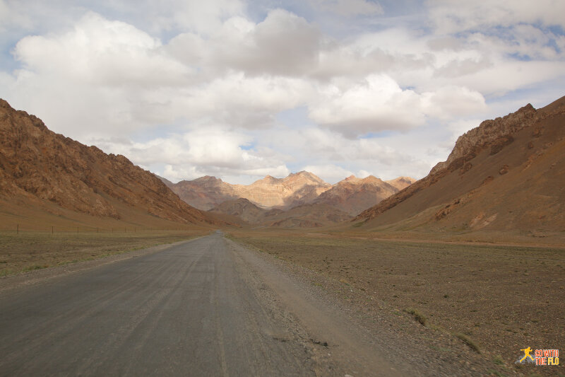 Continuing along the M41 Pamir Highway