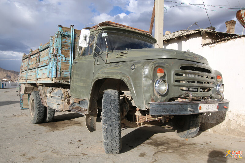 Truck in Murghab