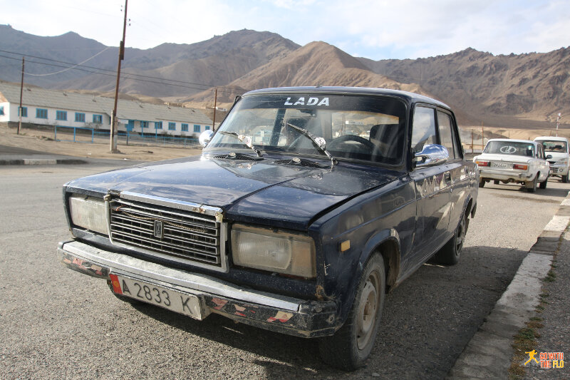 Car in Murghab